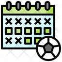 Football Schedule Icon