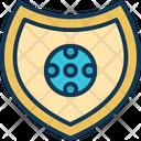 Football Shield Football Badge Champion Icon