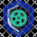 Football Shield Shield Football Icon
