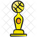 Football Trophy Award Winning Cup Icon