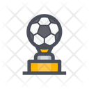 Football Trophy Football Championship Sports Trophy Icon