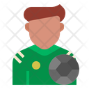 Footballer Job Avatar Icon