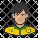 Footballer Neymar Jr Avatar User Icon