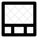 Footer three column Icon
