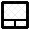 Footer two column Icon