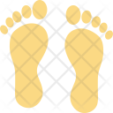 Footfalls Footmarks Footprints Icon