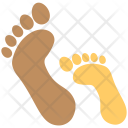 Footprints Family Footprint Icon