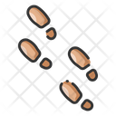 Footprint Crime Evidence Footsteps Icon