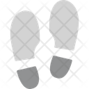 Footprint Human Trace Icon