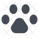 Dog Footprint Paw Icon