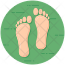 Footprints Footmark Footstep Icon