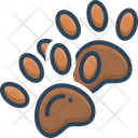 Footprint Animal Track Icon