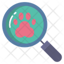 Footprint Research Footprint Paw Icon