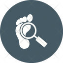 Footprint Scan Icon