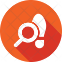 Search Footprint Tracking Icon