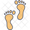 Footprint Barefoot Foot Icon