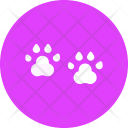 Footprint Footmarks Pet Icon
