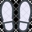 Footprint Distance Icon