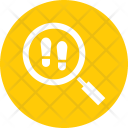 Footprints Detective Crime Icon