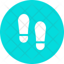 Footprints Foot Crime Icon