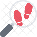 Footprints Search Icon