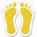 Footprints Footsteps Footmarks Icon