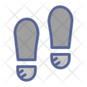 Foot Crime Forensic Icon