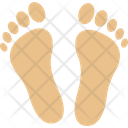 Footsteps Human Footsteps Footprints Icon