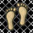 Footprints Footprint Foot Icon