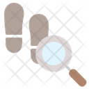 Footprints Footprint Detective Icon