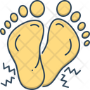 Numbness Tingling Feet Icon