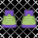 Footwear Shoes Sneakers Icon