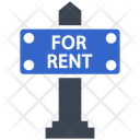 For Rent Sign Icon