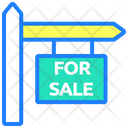 For Sale Sale Board Sale Sign Icon