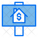 For Sale House Investation Icon