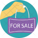 Sale Property Sign Icon