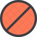 Forbidden Ban Block Icon