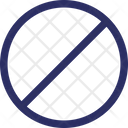 Forbidden Prohibition Restricted Icon