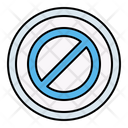 Forbidden Restricted Button Icon