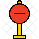 Forbidden No Entry Prohibited Way Icon