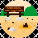 Forbidden Area Notice Icon