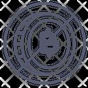 Forbidden Bitcoin Icon