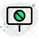 Forbidden Board Warning Forbidden Icon
