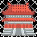 Forbidden City China Asia Icon