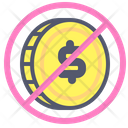 Forbidden Dollar Dollar Prohibition Icon