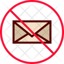 Mail Email Blocked Icon