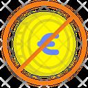 Forbidden Euro Euro Prohibition Icon