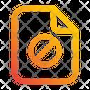 File Forbiden Wrong Icon