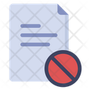 Forbidden File File Page Icon
