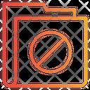 Stop Folder Forbidden Folder Icon